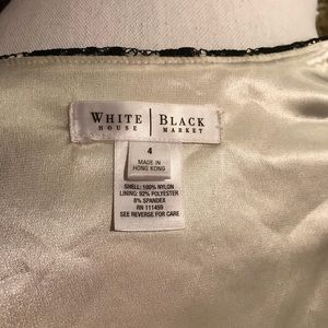 White House Black Market Tops - White House Black Market lace top